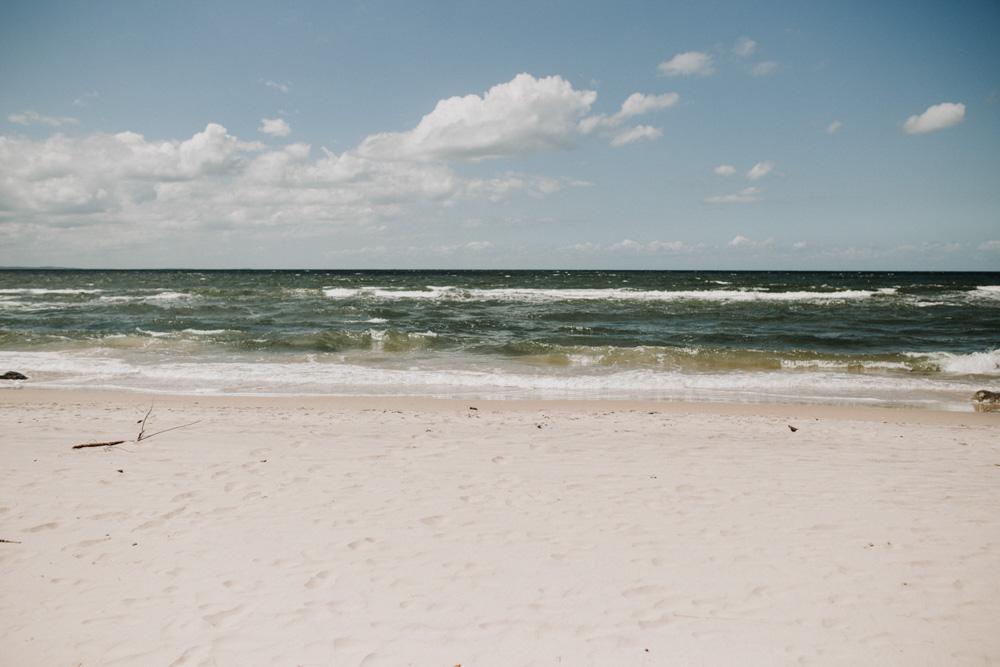 sesja ślubna na plaży